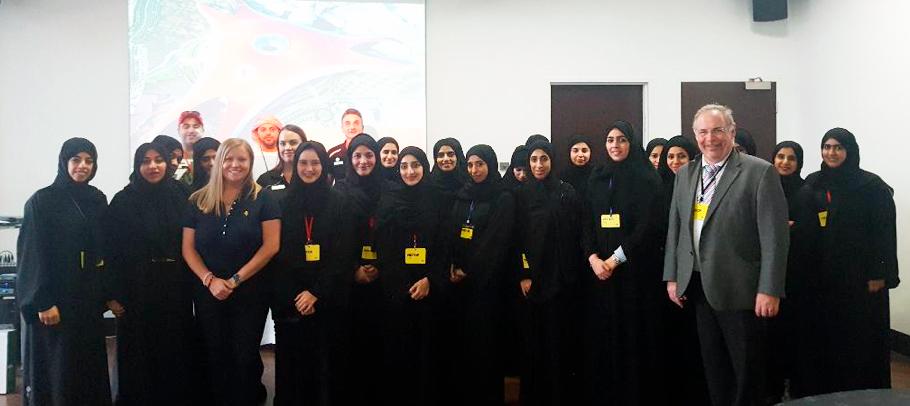 ADSM Students Visit Ferrari World