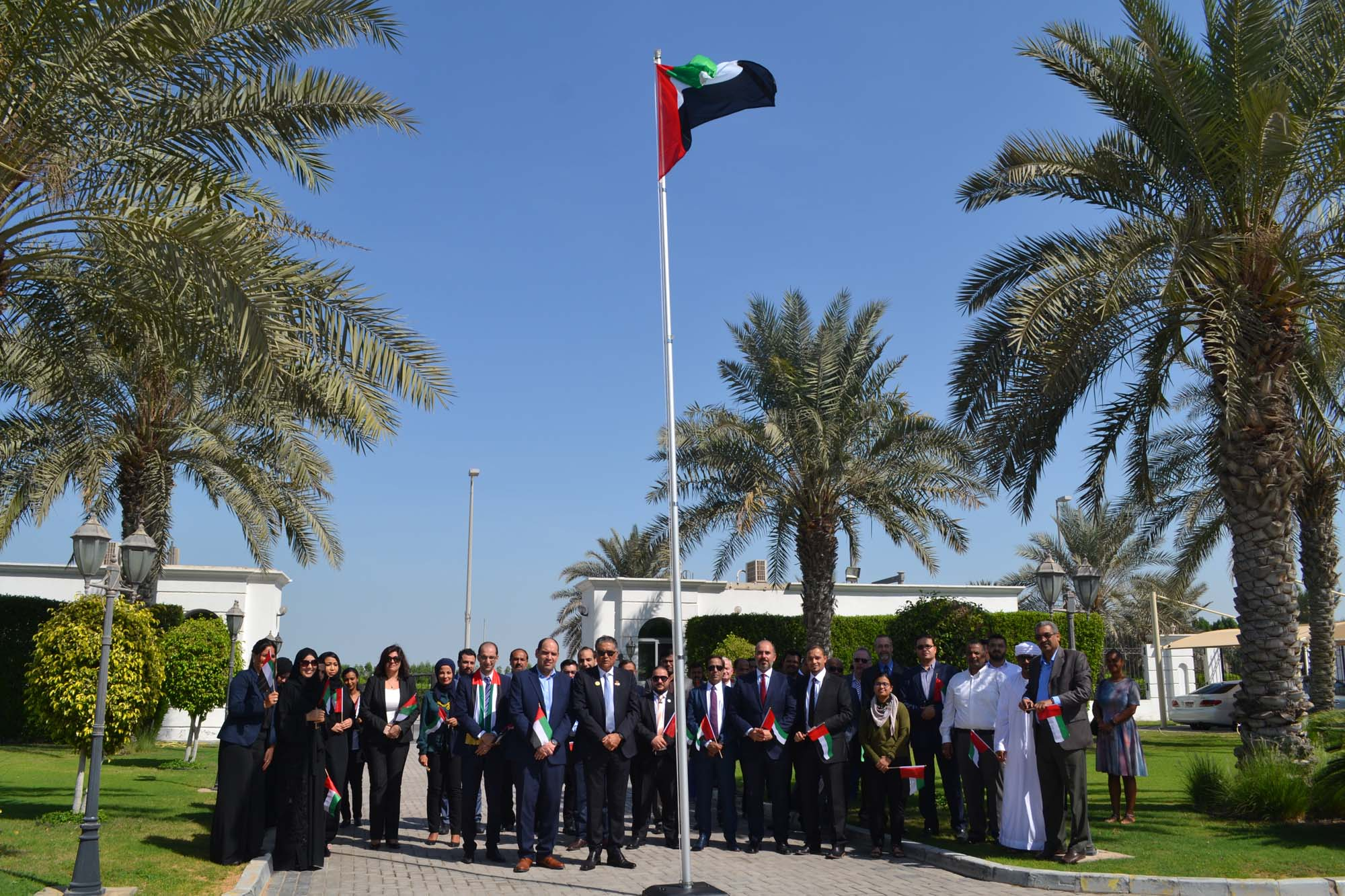 ADSM Celebrates UAE Flag Day 2018