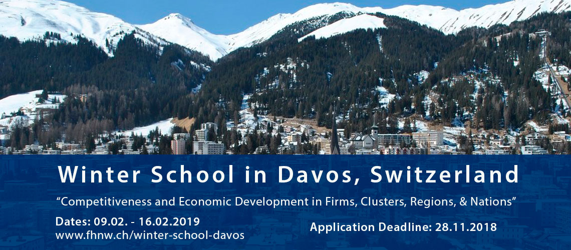 Opportunity for MBA students to study at Winter School in Davos, Switzerland